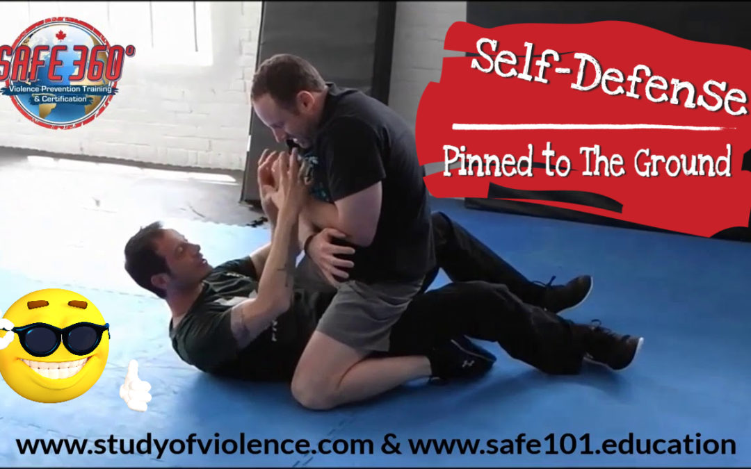 Self-Defense if Pinned to the Ground