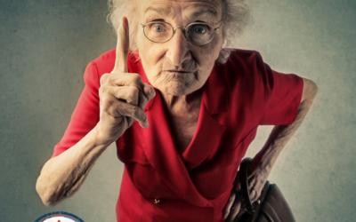 Threats by Road Rage Grandma